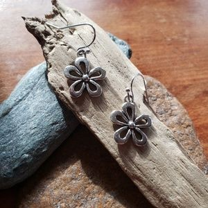 Handmade Hawaiian Hibiscus Flower Earrings